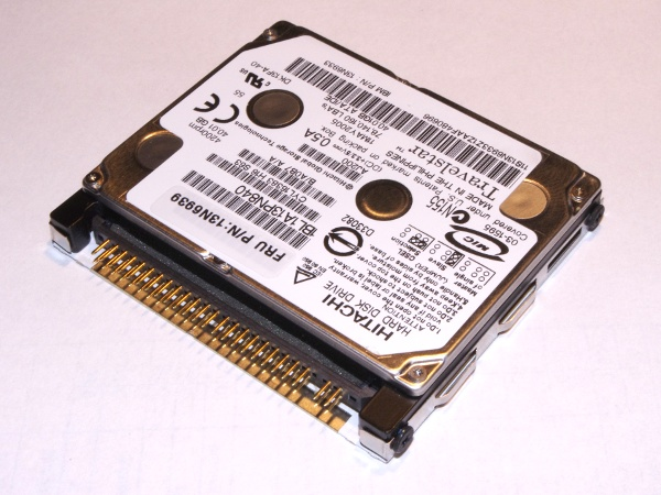 Using Compact Flash cards as SSD alternative